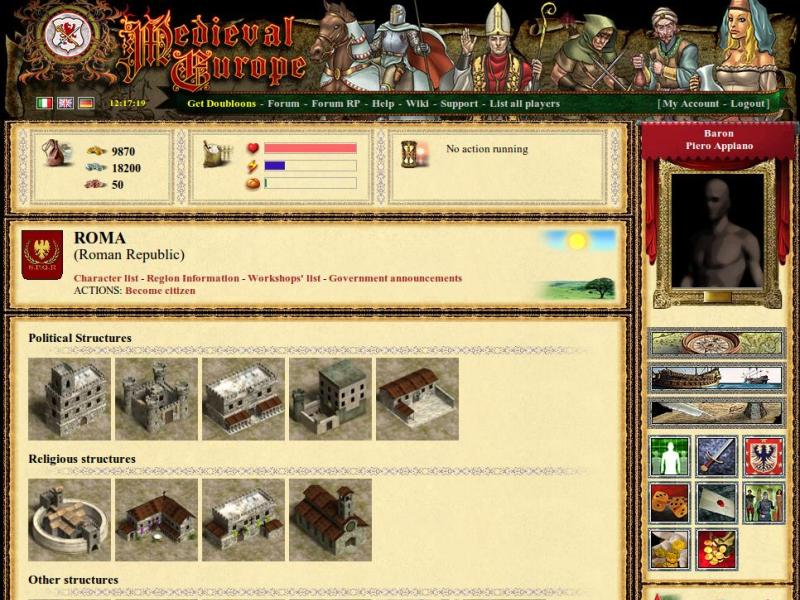 Medieval Europe at Top Web Games