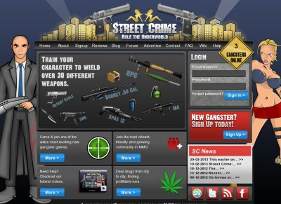 Street Crime at Top Web Games