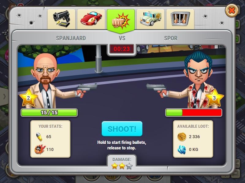 StreetMobsters at Top Web Games